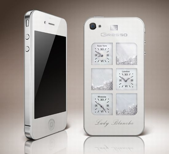 lady blanche iphone