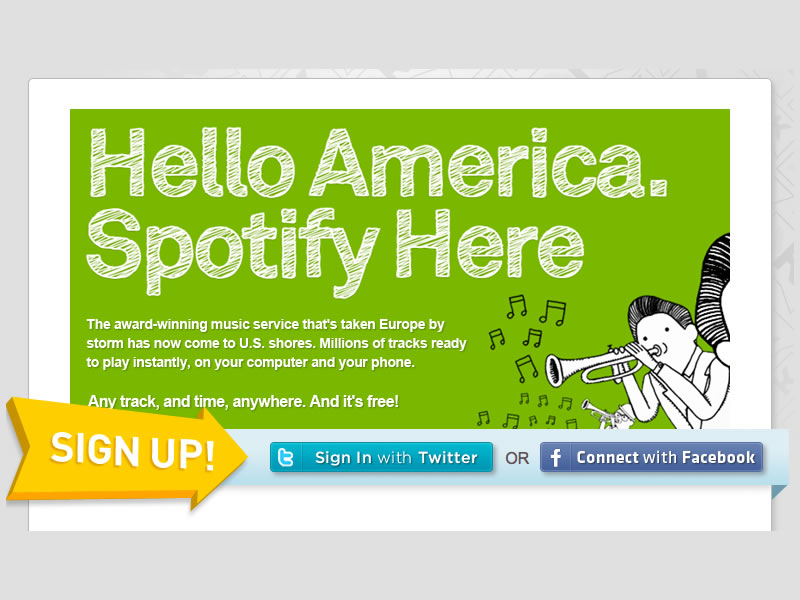 Spotify in the US