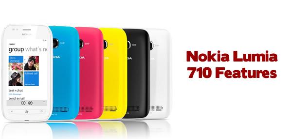 Nokia Lumia 710 Features