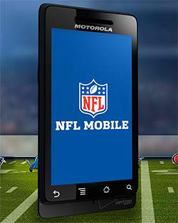 Verizon Wireless-NFL App