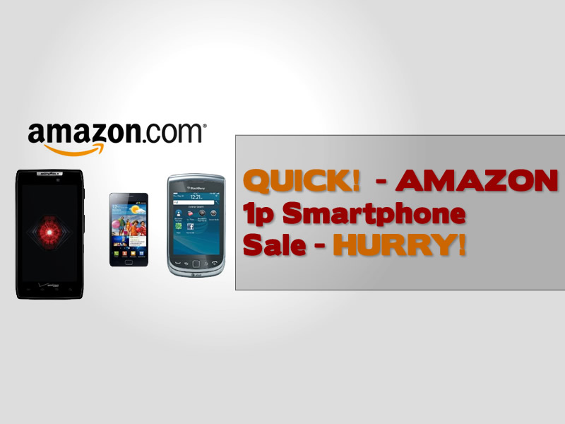 Amazon 1p Smartphone Offer