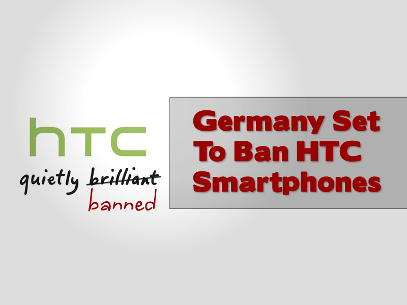 Germany Ban HTC Smartphones