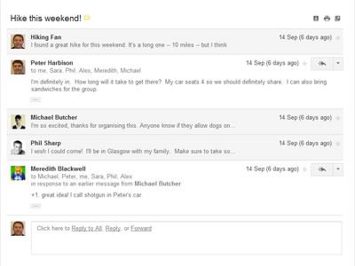 Gmail Conversation