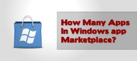 How many apps in Windows App Store