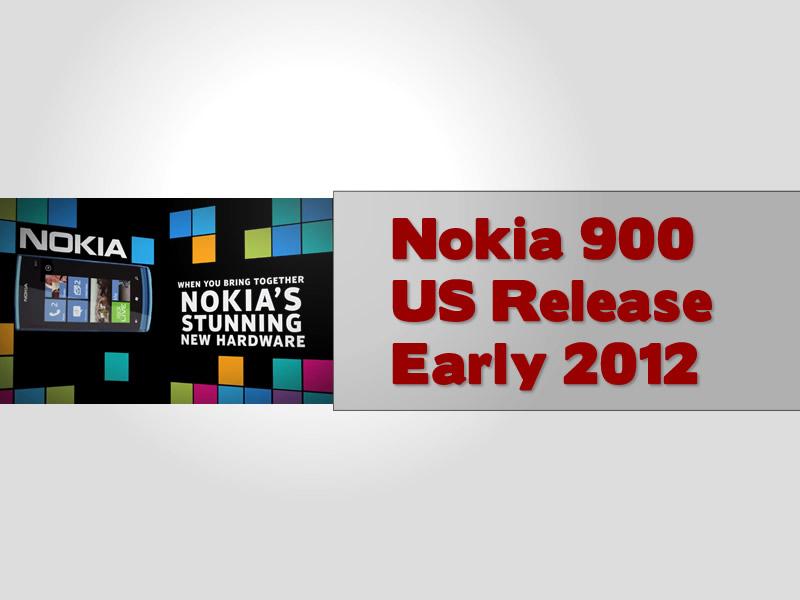 Nokia 900 Lumia US Release