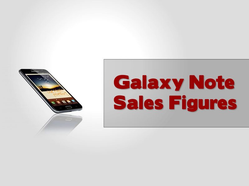 Samsung Sales Forecasts For The Galaxy Note