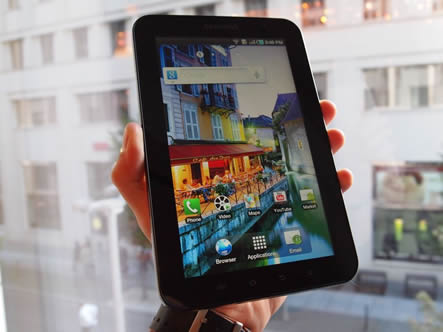 Samsung redesign their Galaxy tab for the German market