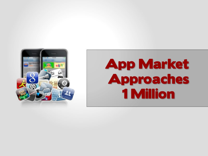 App Market Approaches 1 Million