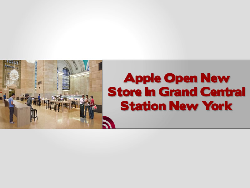 Apple Open New Store In Grand Central Station New York