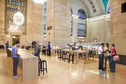 Apple Open New Store In Grand Central Terminal New York