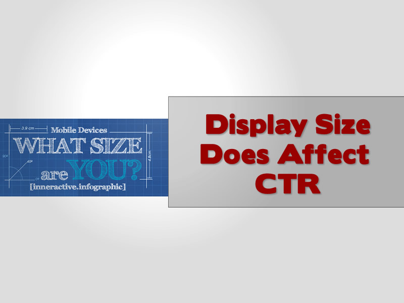 Display Size Does Affect CTR