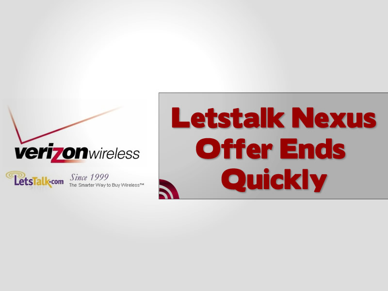 Letstalk Galaxy Nexus Offer Ends Quickly
