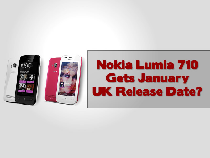 Nokia Lumia 710 Gets January UK Release Date