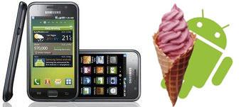 Samsung Galaxy S No Ice Cream Sandwich Update