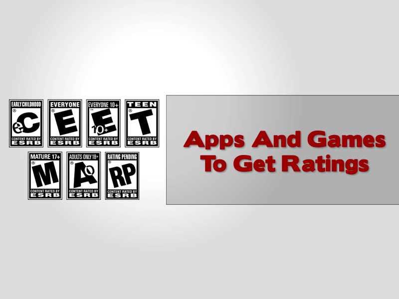 apps and games to get ratings