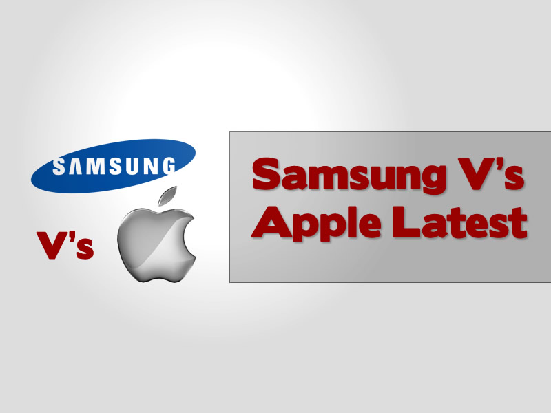 samsung versus apple latest