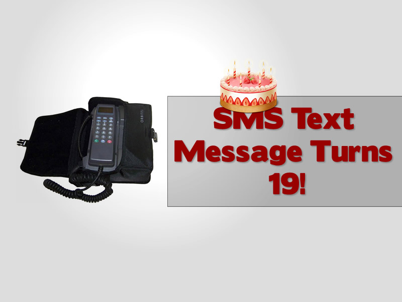 SMS Text Message Happy Birthday