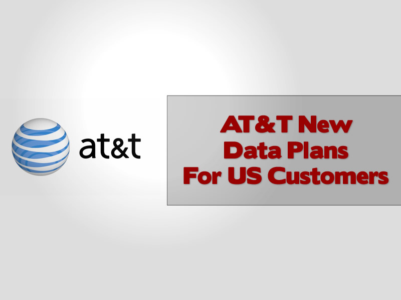 AT&T New Data Plans For US Customers