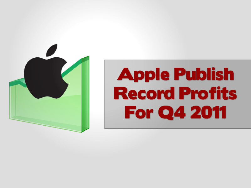 Apple Publish Record Profits