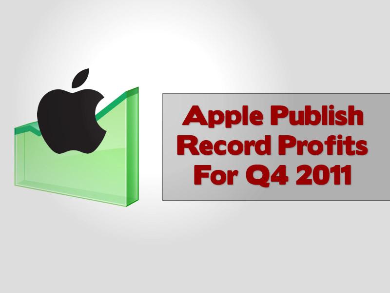 Apple Publish Record Profits