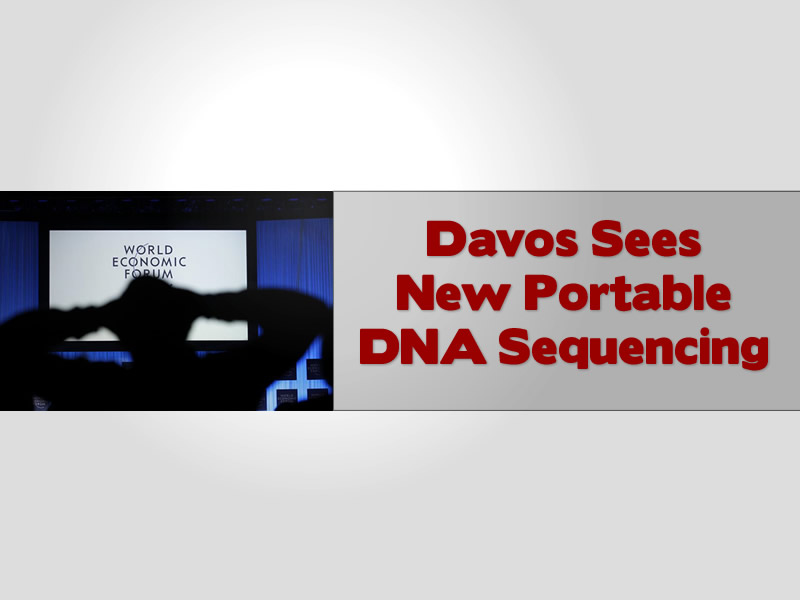 Davos Showcases New Portable DNA Sequencing