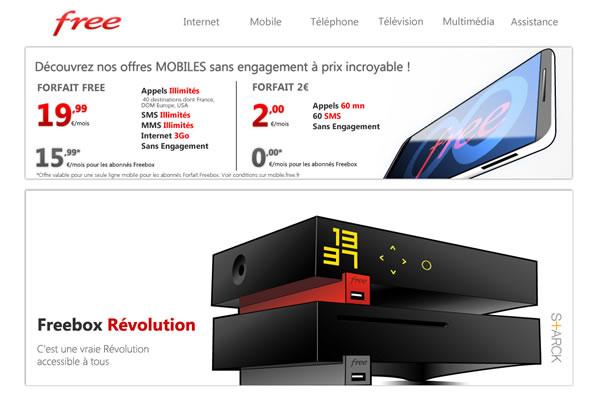 Frances Free Website Crashes After Packages Were Revealed