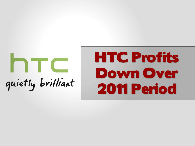 HTC Profits Down Over 2011 Period