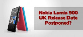 Nokia Lumia 900 UK Release Date