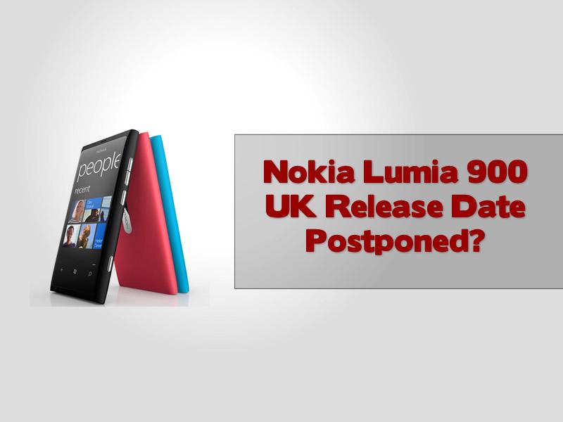 Nokia Lumia 900 UK Release Date