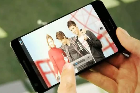 Samsung S3 Leaked Shot CES 2012