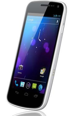 White Samsung Galaxy Nexus Official