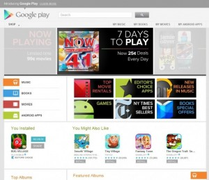 Google Play Marketplace