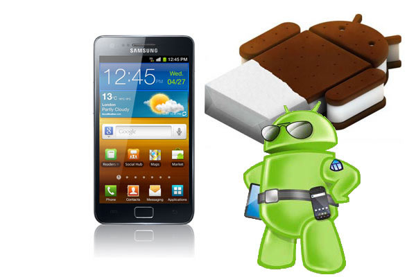 Ice Cream Sandwich Samsung S2 Update