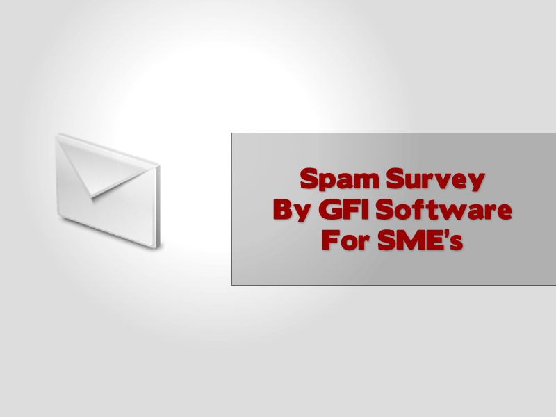 Spam Survey By GFI Software For SME's