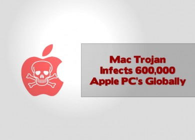 Mac Trojan Infects 600,000 Apple PC's Globally